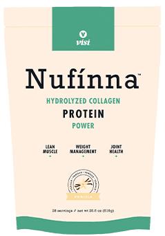 visi nufinna protein collagen shake