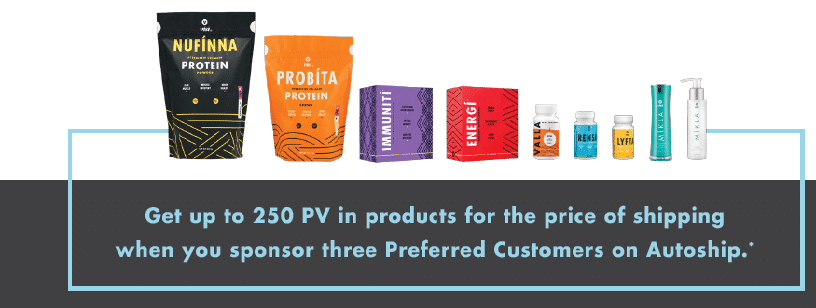 Visi preferred customer program